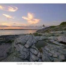 Castle Hill Light - Newport