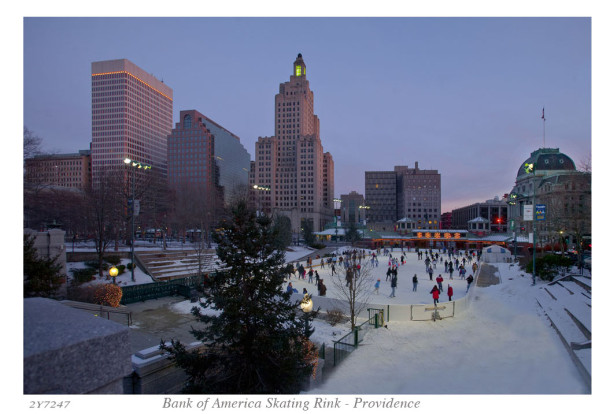 Bank of America Skating Rink - Providence