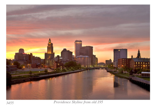 Providence Skyline From Old 195