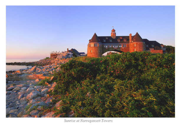 Sunrise at Narragansett Towers