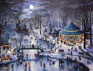Winter Carousel Party