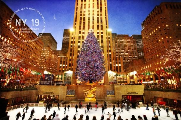 Limited Edition Artwork Rockefeller Center Christmas Tree