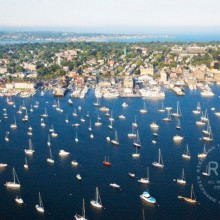 Newport Harbor Aerial